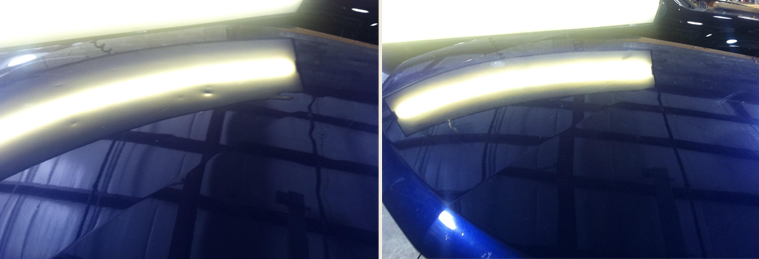 Dent Removal Before After